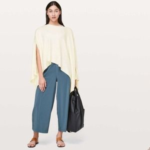 Lululemon Hearts of Compass Poncho in Ivory